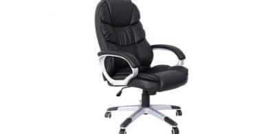 Test chaise de bureau réglable Songmics OBG24B